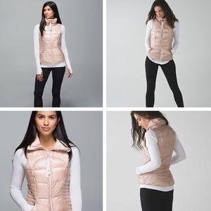 NWOT Lululemon Fluffin' Awesome Vest-Rose Gold 10